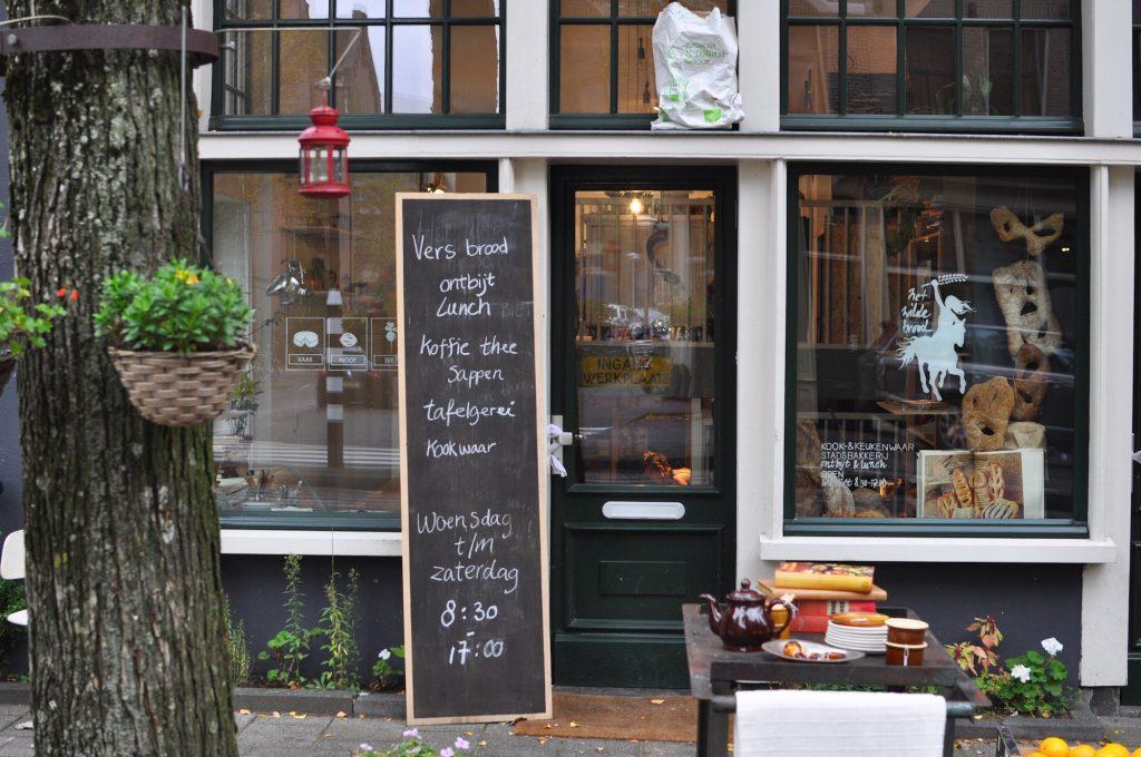 amsterdam oost het wilde brood kaas noot bietCzaar-Peterstraat bakery coffeespot
