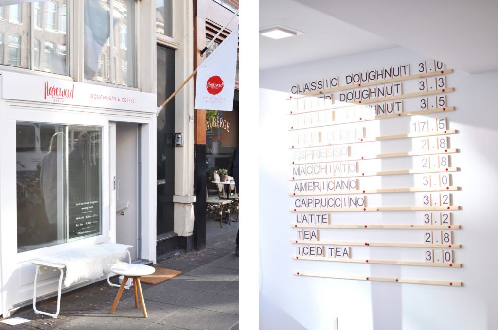 De Pijp Harewood Bakery Amsterdam Donuts and coffee