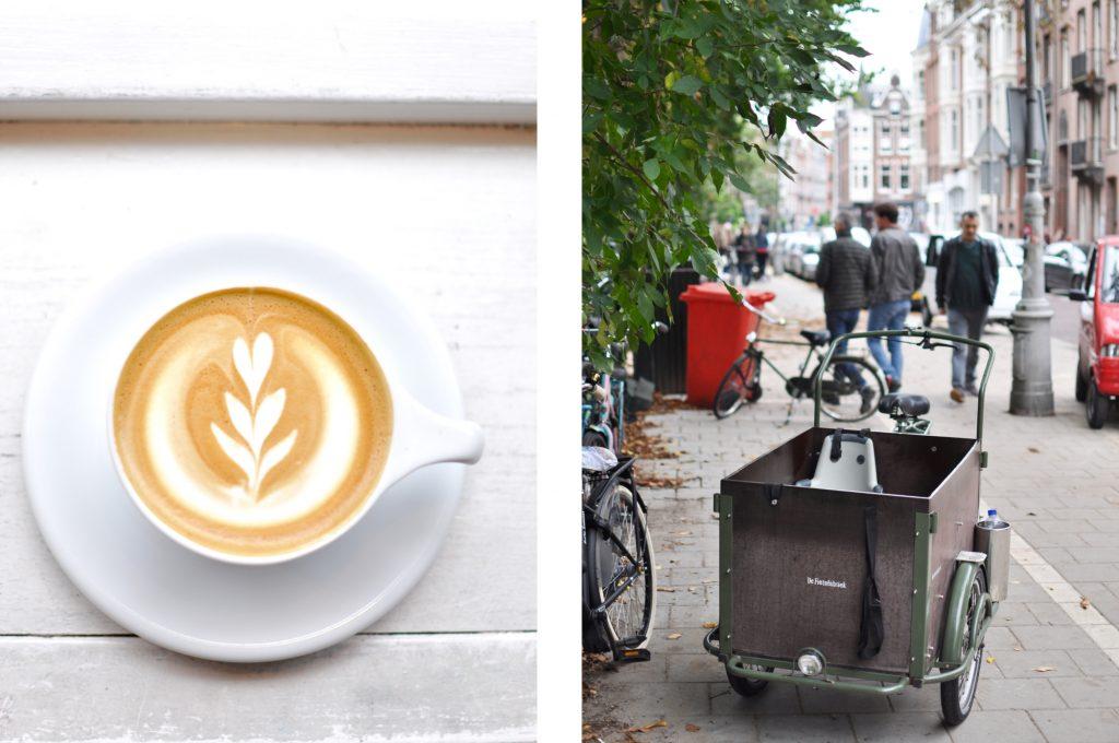 De Pijp Scandinavian Embassy specialty coffee place Amsterdam Fietsen