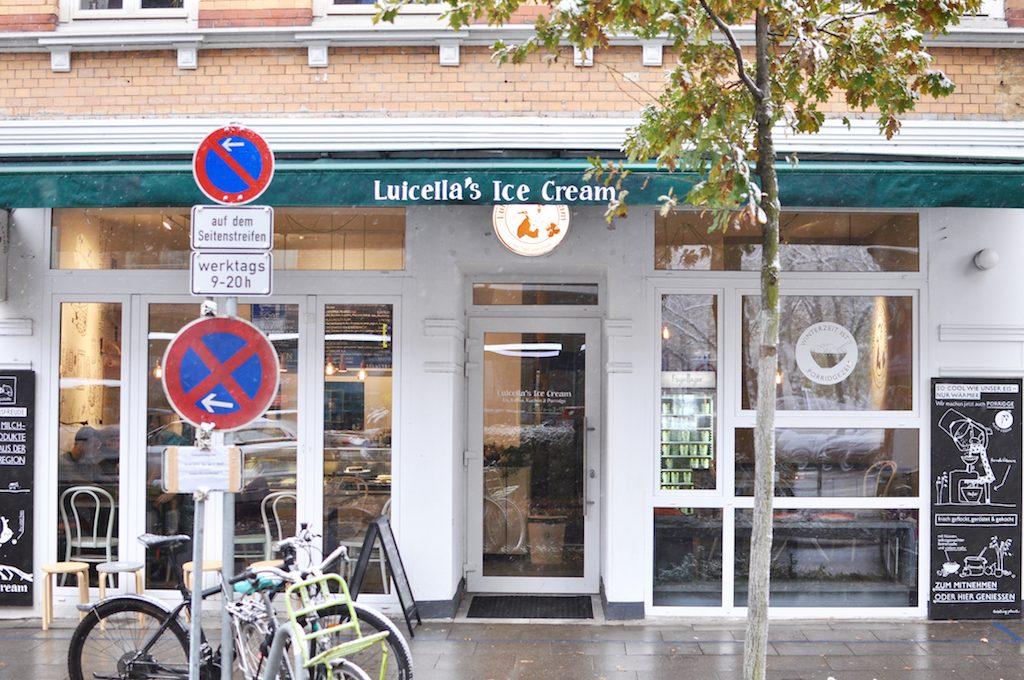 Luicellas Eisdiele Hamburg Winterzeit ist Porridgezeit