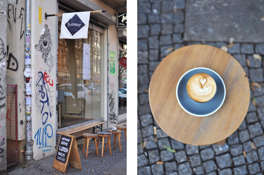 Fenster Third wave coffee place Berlin Specialty coffee