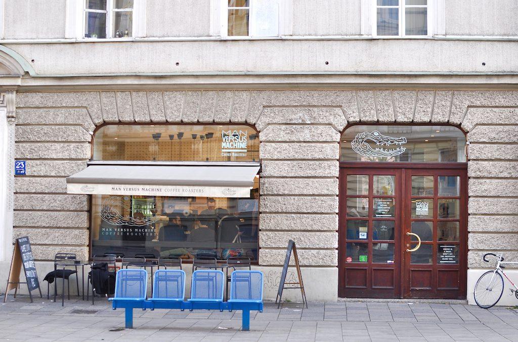 Munich, Glockenbachviertel: Man Versus Machine