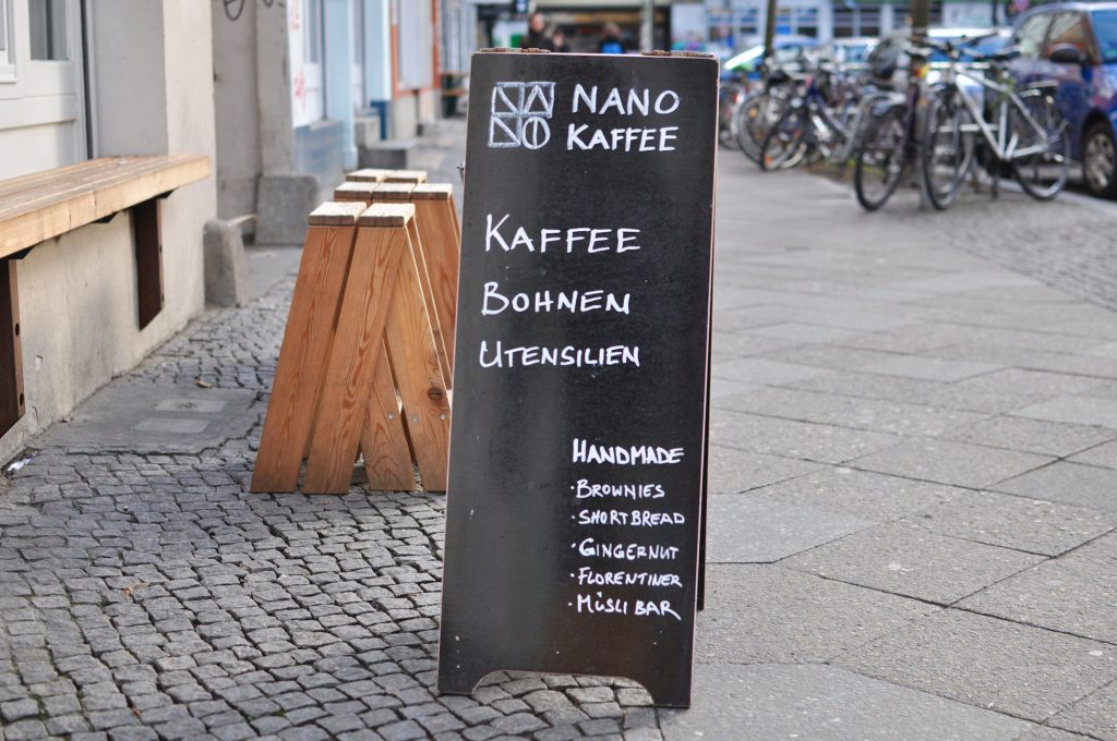 Nano Kaffee Berlin Kreuzberg Specialty coffee
