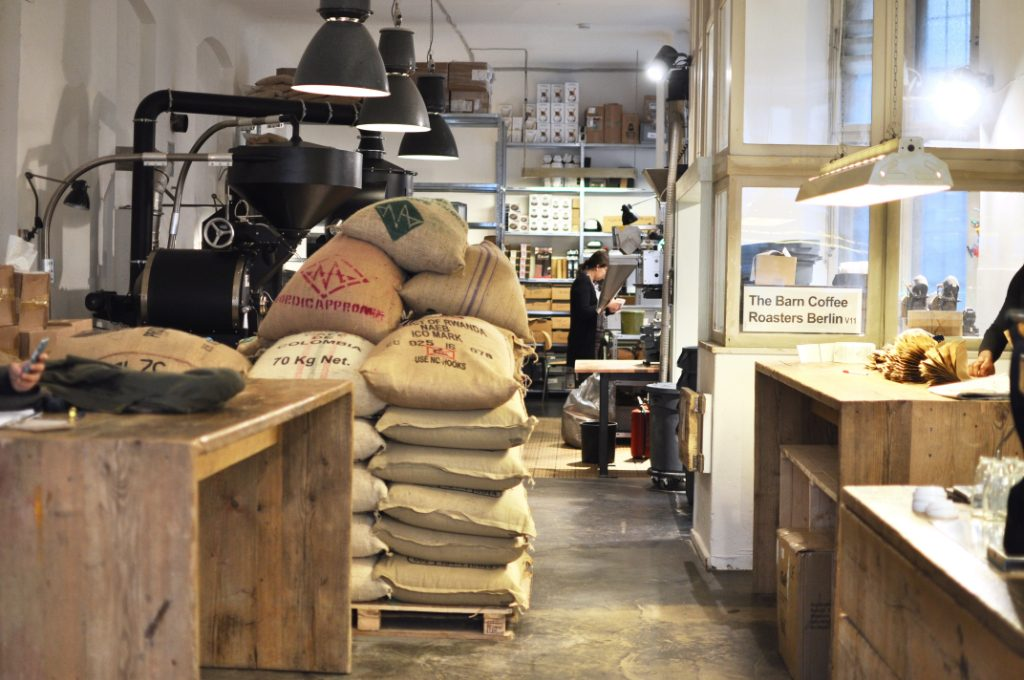 The Barn Berlin Mitte Coffeeplace Specialty coffee third wave coffee Roasters