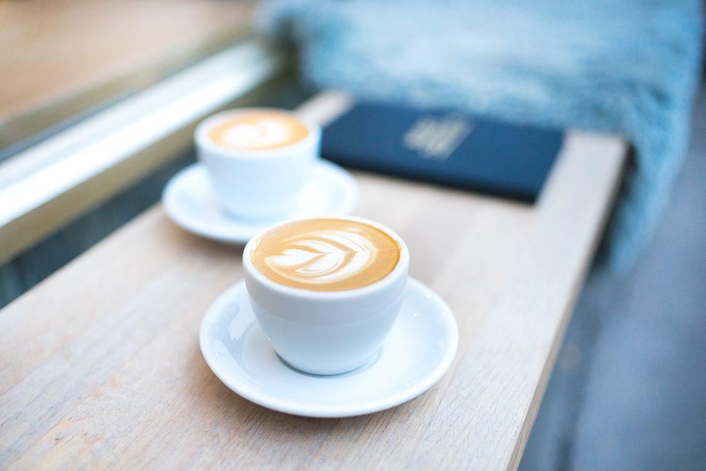 Latte Art Kaffee Milch Feinkost