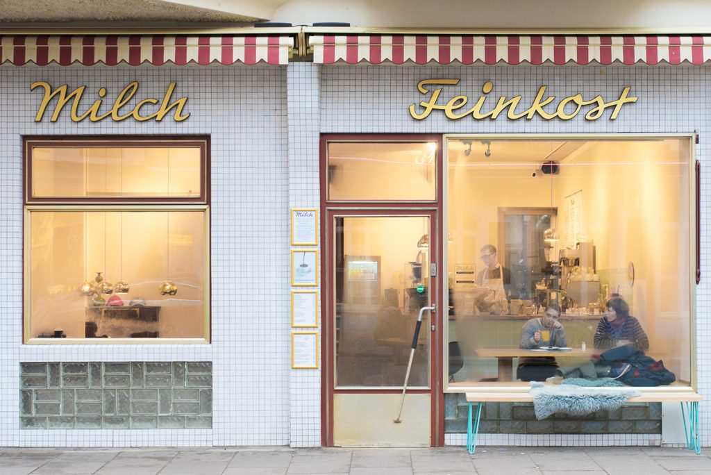 Milch Feinkost Hamburg Café