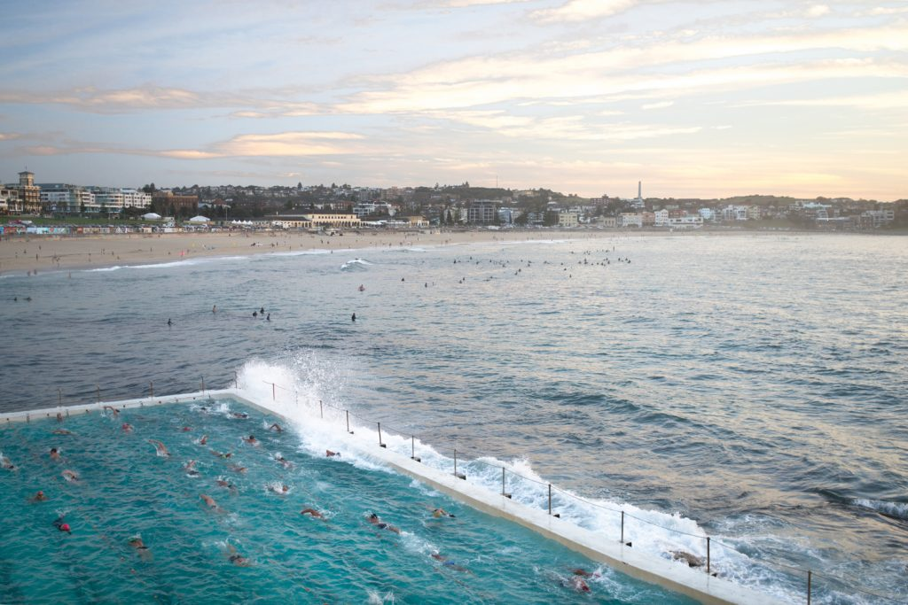 Bondi Beach Icebergs Club Pool Sunrise