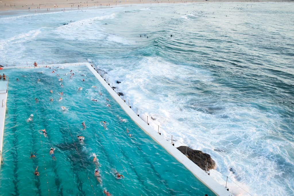 Swimming Iceberg Club Bondi Beach Sunrise Sydney Australia Travelblog