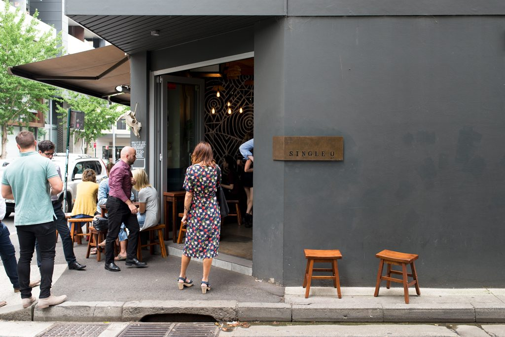 Single O Specialty Coffee Place Sydney Café SurryHills