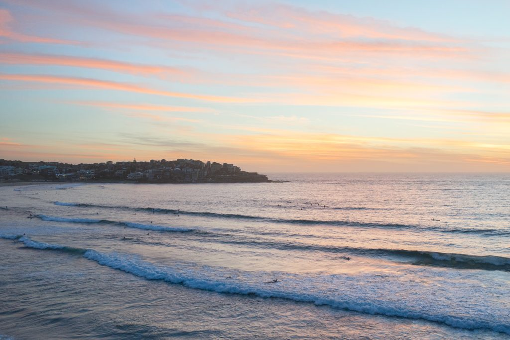 Sunrise-at-Bondi-Beach-Sydney-Australia-Travelblog