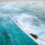 Sydney, Bondi Beach: Sonnenaufgang, Icebergs Club und Porch & Parlour