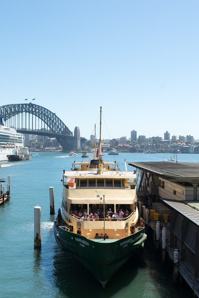 Sydney Ferry Circular Quay Travelblog Manly