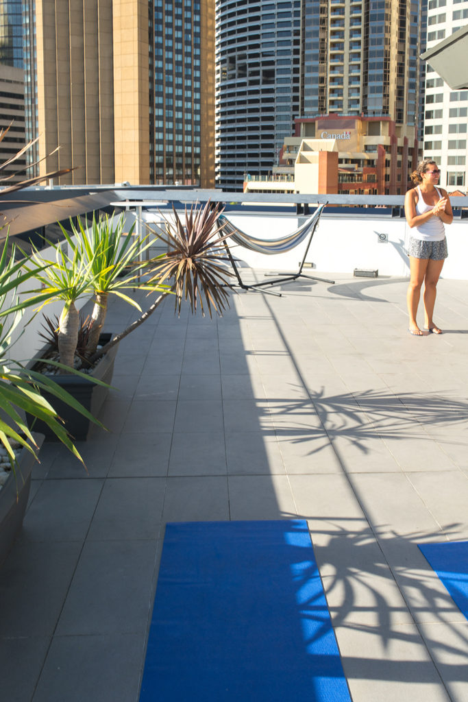 Sydney Hostel Harbour YHA - The Rocks Yoga