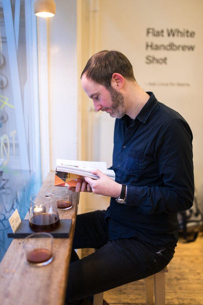 Tho @lastguest_hh @coffeetablemags auf einen Kaffee mit third wave coffee