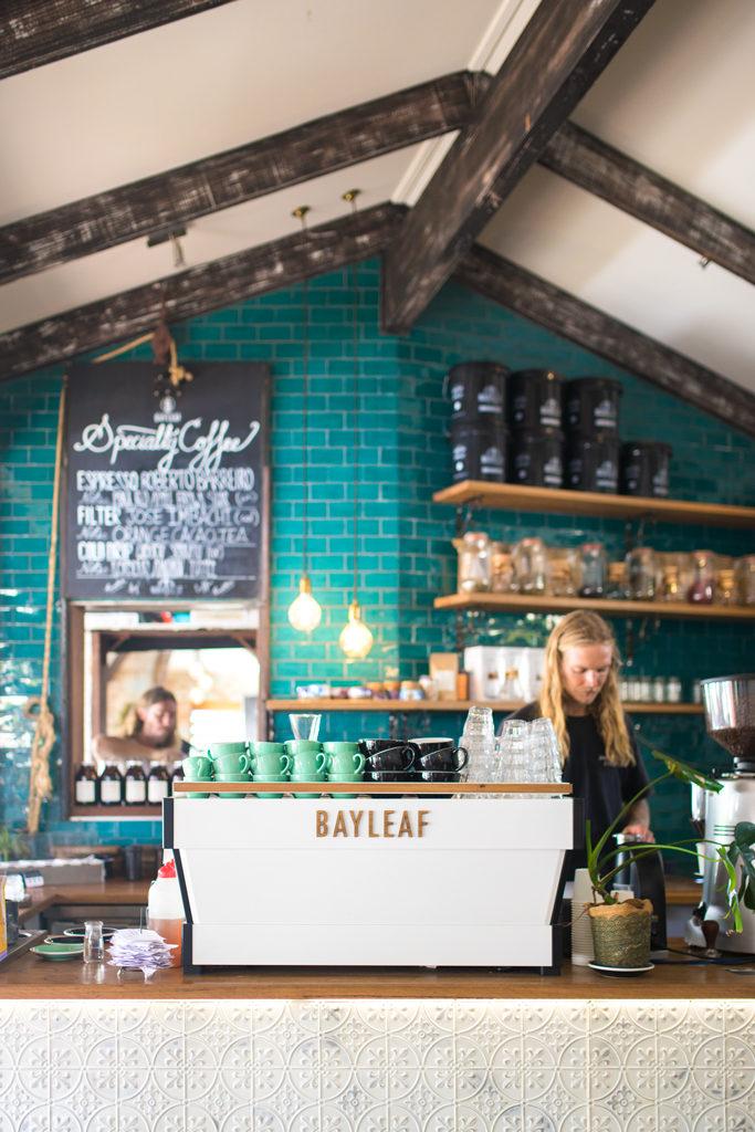 Bay leaf cafe Byron Bay Specialty coffee Marvell Street Coffee