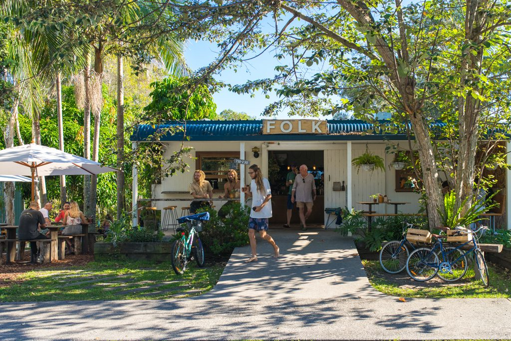 Byron Bay Cafe Folk Breakfast Australia Hipster