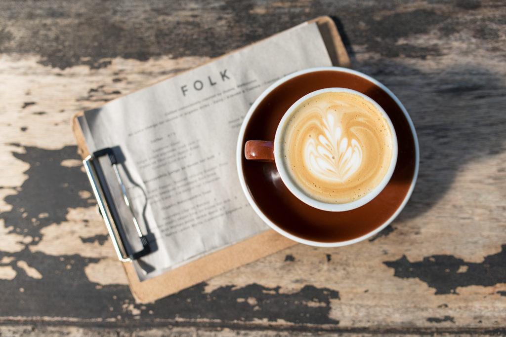 Byron Bay Cafe Folk Breakfast Flat White