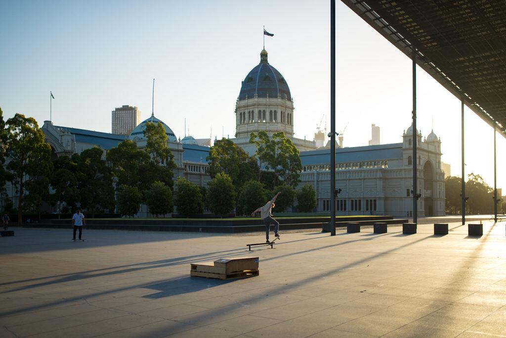Skateboarder Melbourne Museum Australien Travelblog Australia