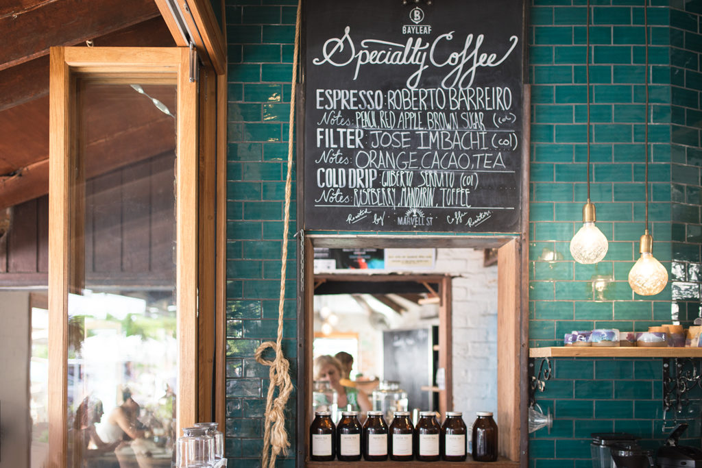 Specialty Coffee Byron Bay Café Bay leaf Marvell Street coffee