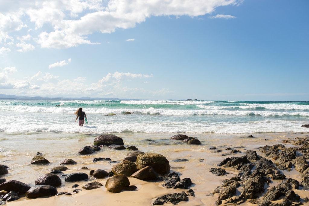 Surfer Byron Bay Australia