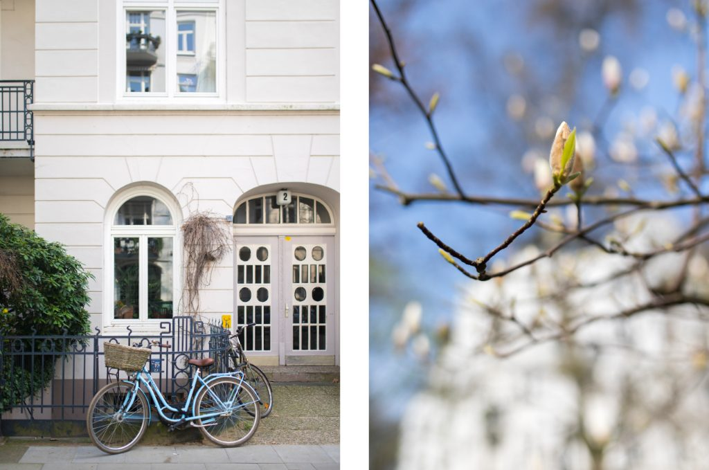 Hamburg Eppendorf im Frühling