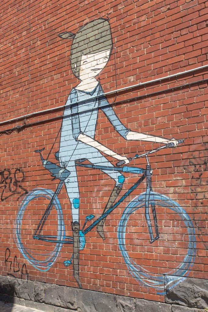 Street-Art-Melbourne-Mural-Australia-Bike
