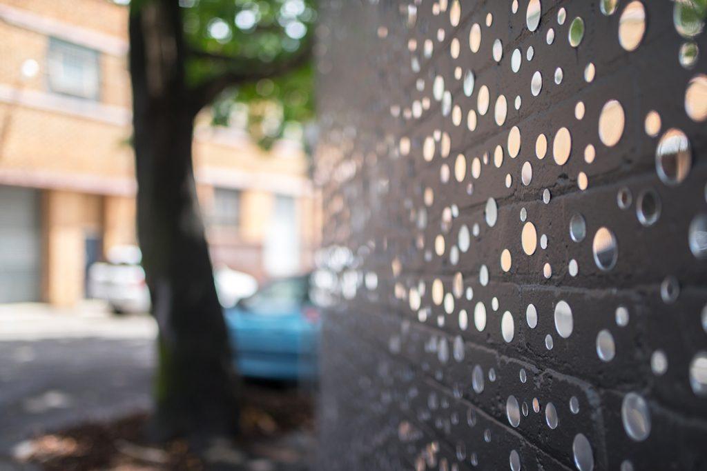 Sydney-Street-Art-Mirrors-Sunshine-Bokeh