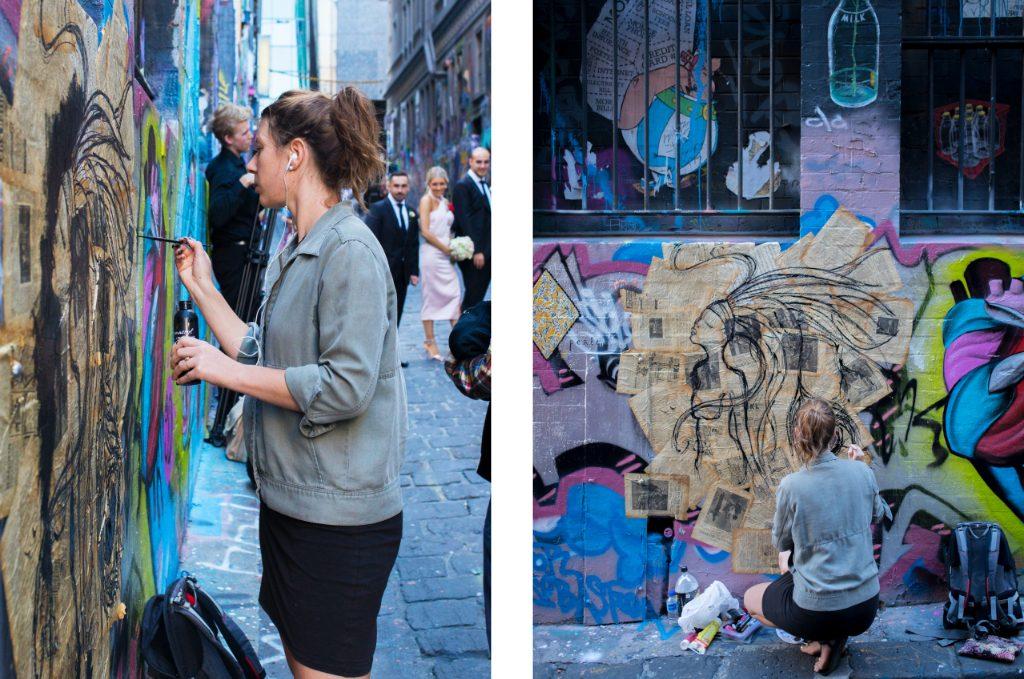 Loiser Fanny Devert Artwork Hosier Lane