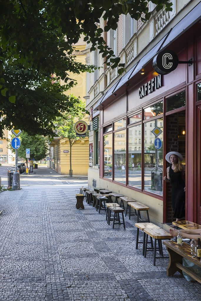 Caféfin Prague Prag Coffeespot