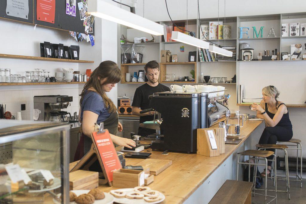 Ema Prague Specialty Coffee Menu