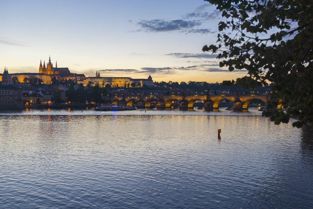 Karlův most Sonnenuntergang Prague Prag sunset