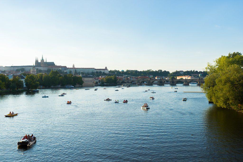 Karlsbrücke Karlův most Moldau Prague-Guide