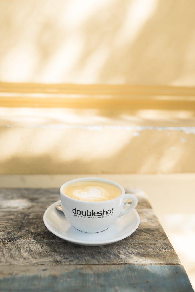 Muj salek kavy Doubleshot Specialty Coffee Prague