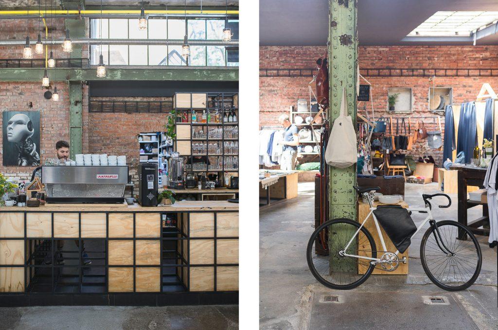 VNITROBLOCK Prague Hipster Coffee Guide Café Bike