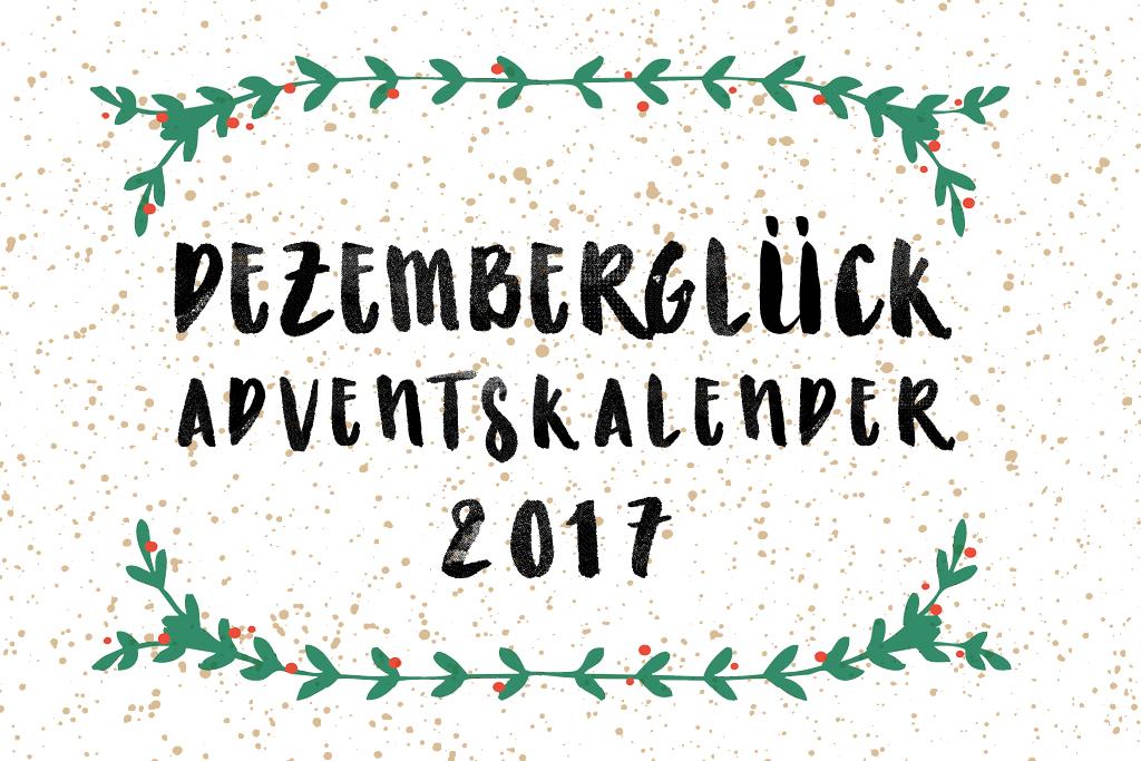 Dezemberglück Blog Adventskalender 2017 Fräulein Anker