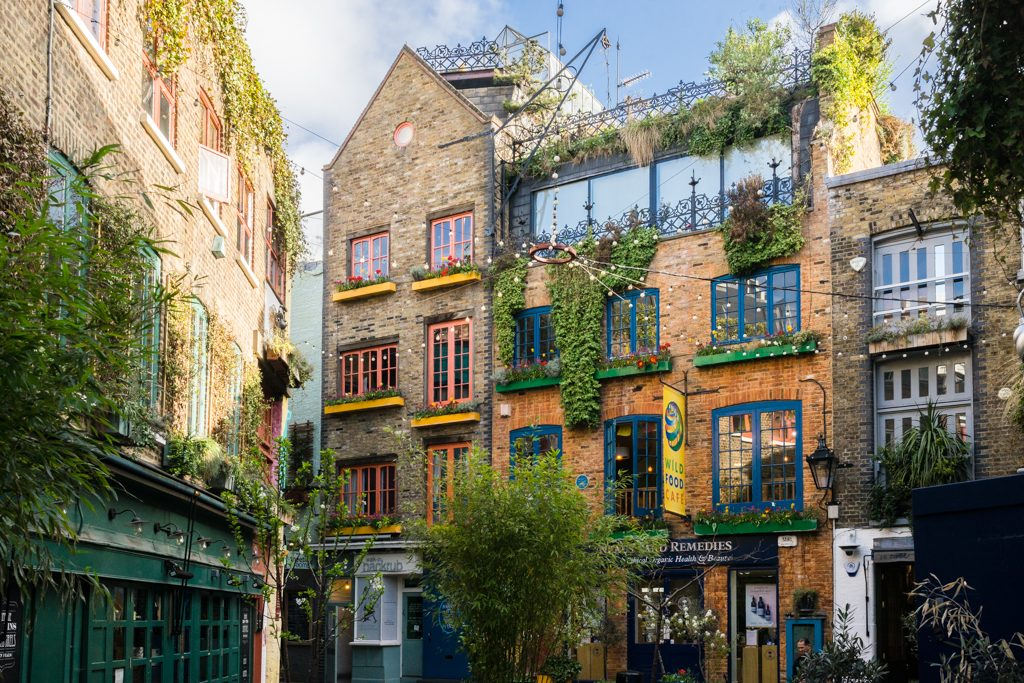 Covent Garden London Neal's Yard