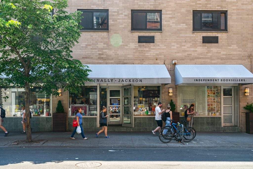 New York Guide McNally Jackson Indiependet Booksellers