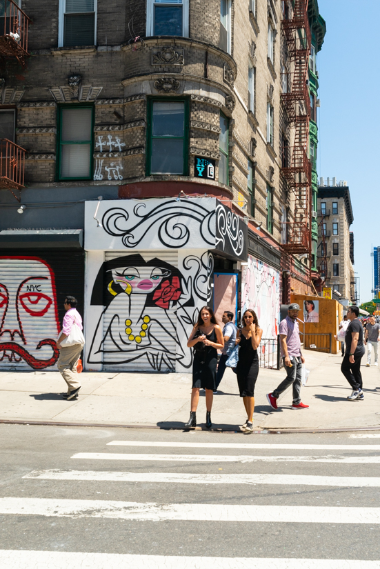 Nolita district NYC