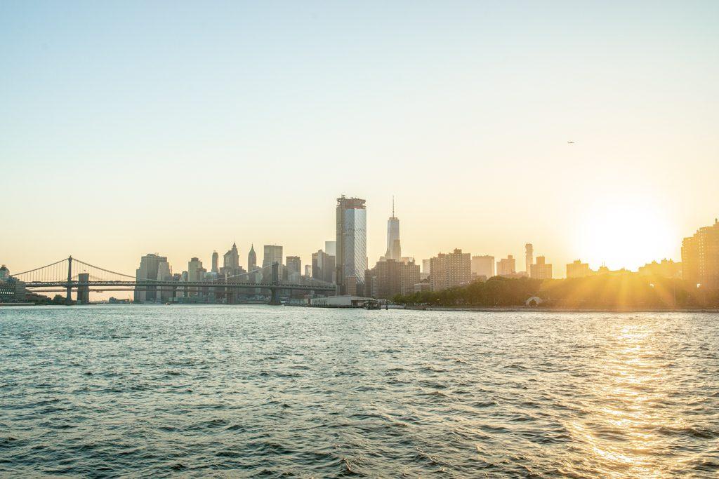 Skyline New York Manhattan Usa