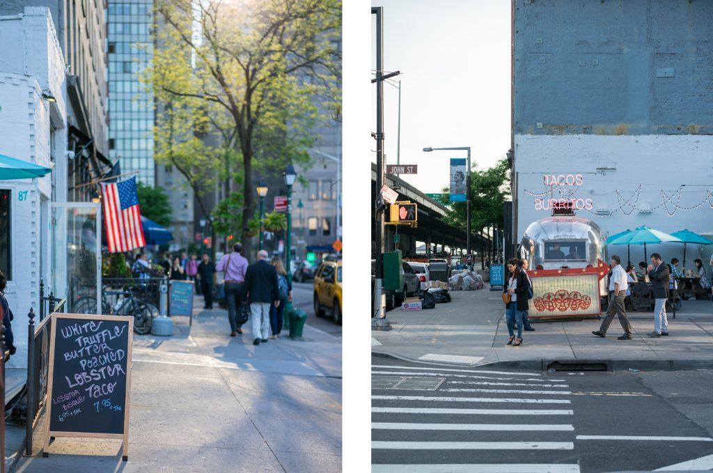 Tacos vs Burritos New York Wallstreet Lunchspot